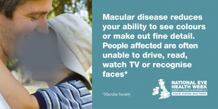 NEHW Twitter Graphic All about Macular Disease