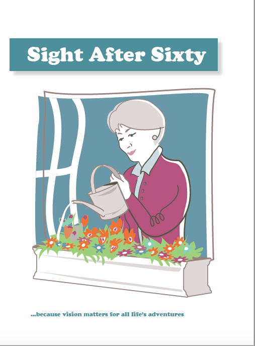 Sight after sixty leaflet cover